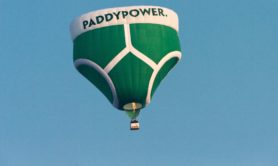 Paddy Power balloon test flight in Shropshire. PRESS ASSOCIATION Photo. Picture date: Tuesday March 5, 2013. Photo credit should read: Bob Collier/PA