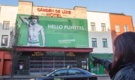 "NO FEE FOR 1ST REPRO With the Cheltenham Festival less than a week away, Paddy Power wants to whip Irish punters into a frenzy by installing a giant 14m x 6m billboard of a scantily clad Ruby Walsh above The Palace on Camden Street, Dublin.   The advertisement, which is a play on Wonderbra's infamous 'Hello Boys' campaign and Protein World's 'Beach Ready' billboards, features a seductive looking Walsh in Paddy Power undies along with the headline ""Hello Punters, are you Cheltenham ready?""   The nine time Cheltenham Top Jockey is also tattooed with the names of a number of his memorable Festival rides such as Douvan, Un De Sceaux, Faugheen, Vautour and Annie Power. PIC PAUL SHARP/SHARPPIX"
