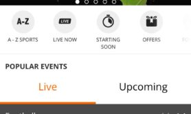 Betsson's updated mobile sportsbook