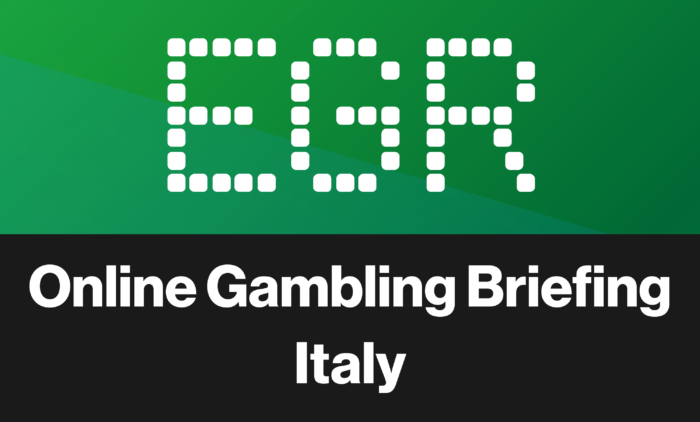 EGR Online Gambling Briefing Italy