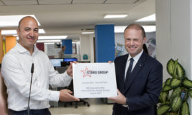 The Stars Group CEO Rafi Ashkenazi and The Honourable Joseph Muscat