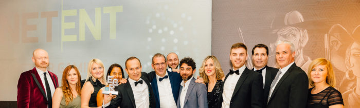 EGR Nordics Awards 2018 Casino Platform Supplier, NetEnt