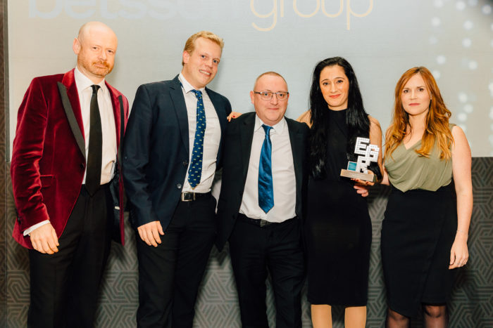 EGR Nordics Awards 2018 Customer Services Operator, Betsson Group