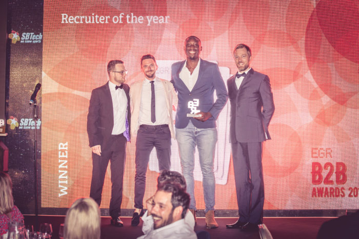 Recruiter of the year, iGaming Elite