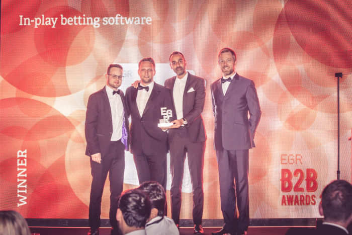 In-play betting software, SBTech