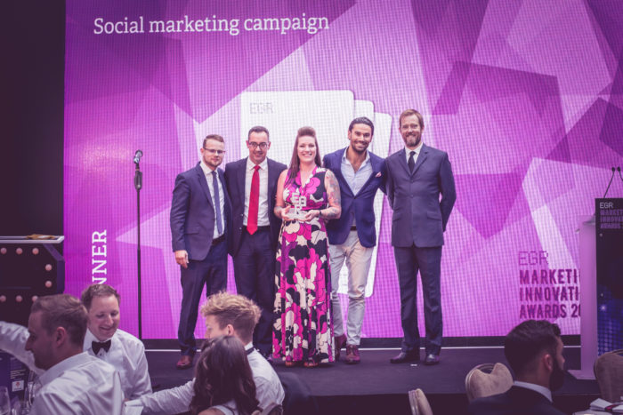 Social marketing campaign, The Stars Group