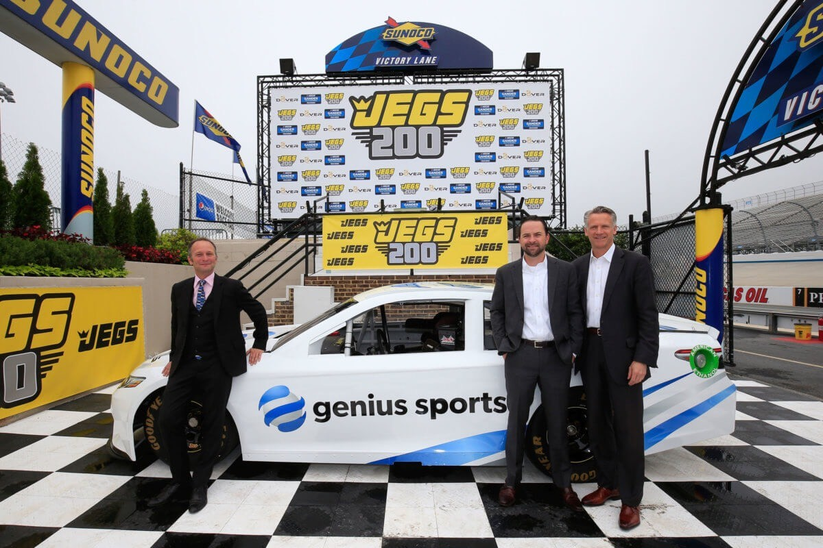 Genius Sports' deal with Nascar is one example of the official data partnerships being signed in the US