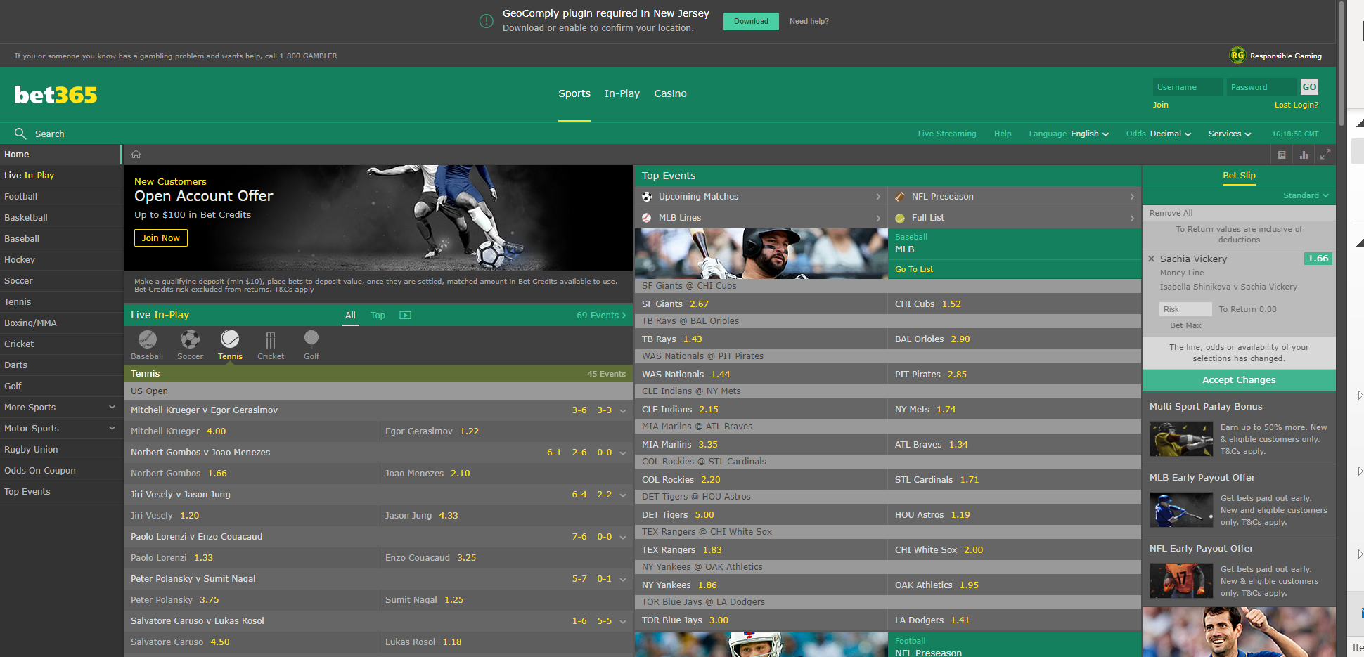Bet365 soft-launches New Jersey betting site | EGR North